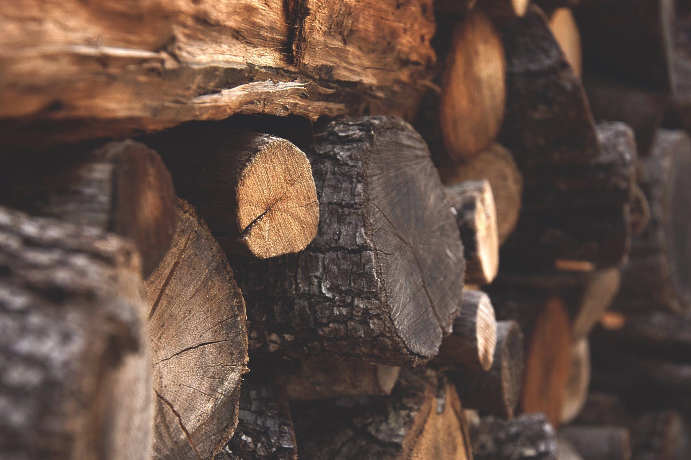 Wie der Rohstoff Holz verwendet wird